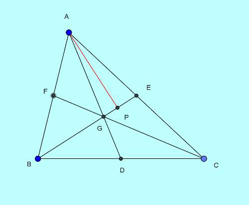Basic and rich Geometry concepts part 6-2 triangle area division by median proof