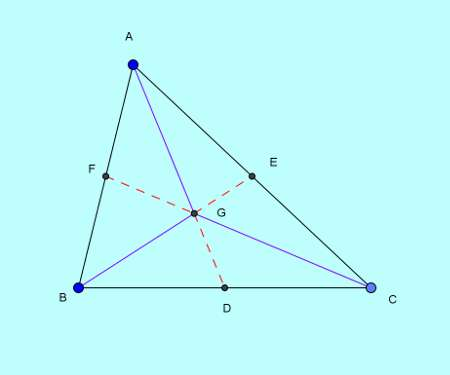 Basic and rich Geometry concepts part 6-3 triangle area division by median proof