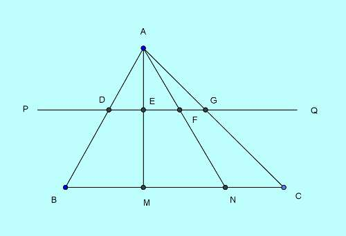Basic and rich Geometry concepts part 6-4 triangle similarity rich concept proof