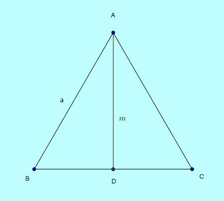 Basic and rich Geometry concepts part 6-6 area of equilateral triangle from medians