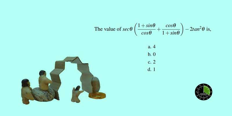 How to solve SSC CGL level problem in quick steps trigonometry 9
