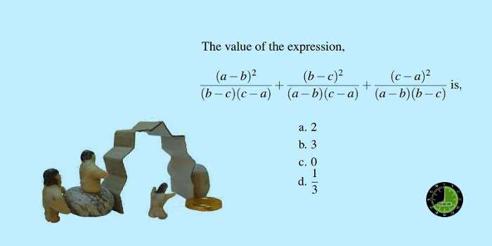 How to solve a difficult SSC CGL algebra problem mentally using patterns and methods 16
