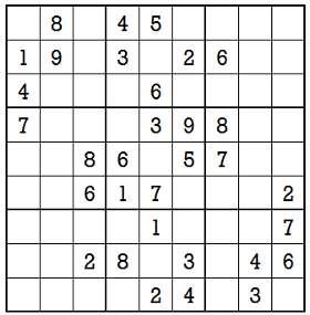 Sudoku second level game-5-1