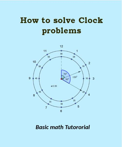 how to solve clock problems
