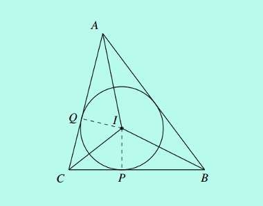 incenter of a triangle