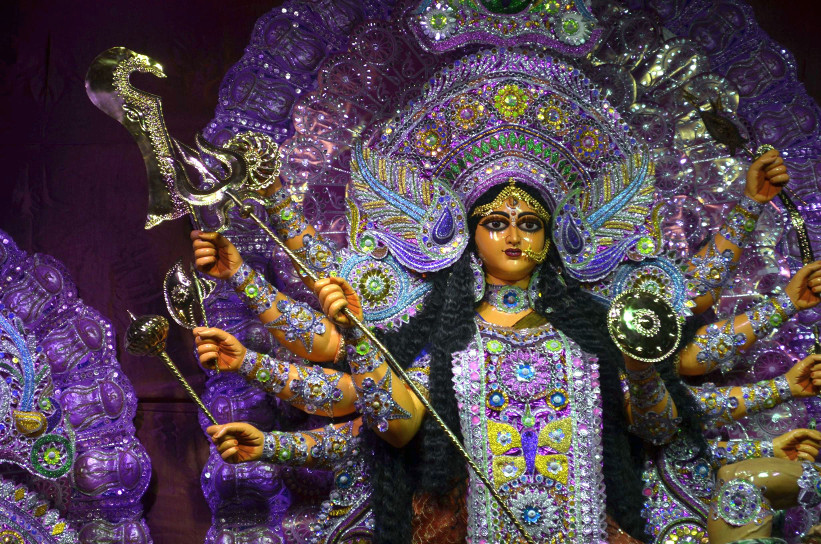 A treat to the eye, Devi Durga, Kolkata 2015
